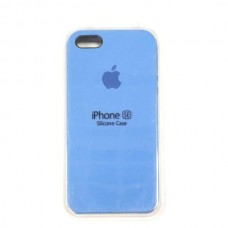 Чехол iPhone 5/SE Soft-Touch Silicone Case синий 12