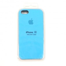Чехол iPhone 5/SE Soft-Touch Silicone Case синий 20