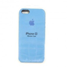 Чехол iPhone 5/SE Soft-Touch Silicone Case синий 45