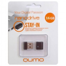 флешка USB Flash 16GB QUMO Stay-in черный