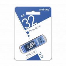 флешка USB Flash 32GB Smartbuy Glossy синий