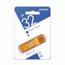 флешка USB Flash 32GB Smartbuy Glossy оранжевый